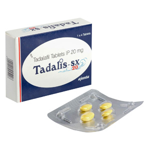 Kjøp Tadalafil i Norge | Tadalis SX 20 Online