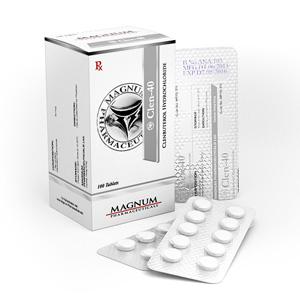 Kjøp Clenbuterol hydrochloride (Clen) i Norge | Magnum Clen-40 Online