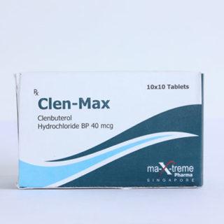 Kjøp Clenbuterol hydrochloride (Clen) i Norge | Clen-Max Online