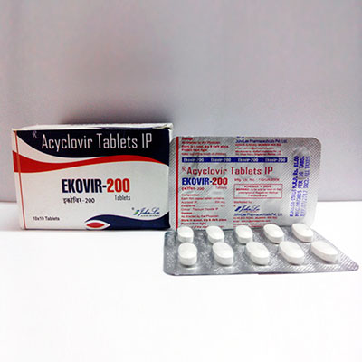 Kjøp Acyclovir (Zovirax) i Norge | Ekovir Online