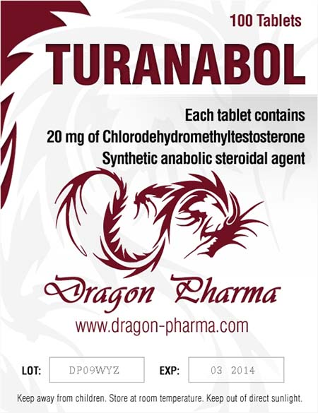 Kjøp Turinabol (4-klorodehydrometyltestosteron) i Norge   Turanabol Online